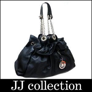 Dior クリスチャン ディオール チェーンショルダーバッグ レザー×シルバー金具 ブラック|jjcollection2008