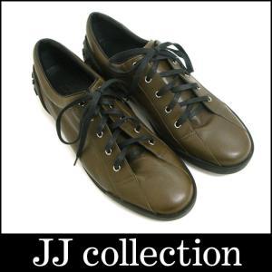 GUCCI グッチ スニーカー ブラウン×ブラック レザー サイズ表記:9 1/2|jjcollection2008