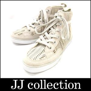 COACH コーチ スニーカー ベージュ 表記サイズ:36 6M|jjcollection2008