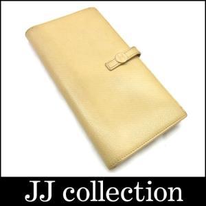 CHANEL シャネル Wホック二つ折り長財布 レザー×ココボタン ベージュ jjcollection2008