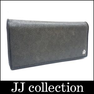 dunhill ダンヒル 二つ折り長財布 PVC ウィンザー グレー|jjcollection2008