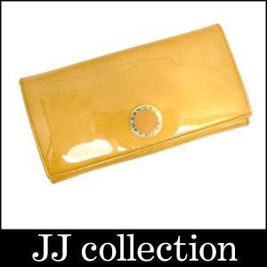 BVLGARI ブルガリ 2つ折り長財布 エナメル コローレ ブラウン|jjcollection2008