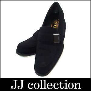 PRADA プラダ ローファー ブラック キャンバス シューズ 表記サイズ:35|jjcollection2008
