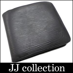 LOUIS VUITTON ルイヴィトン ポルトフォイユ・マルコ 2つ折りコンパクト財布 エピ ノワール M63652 【Jコレ】[fu] jjcollection2008