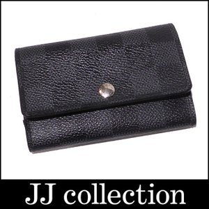 LOUIS VUITTON ルイヴィトン 6連キーケース ダミエ グラフィット イニシャル入り jjcollection2008