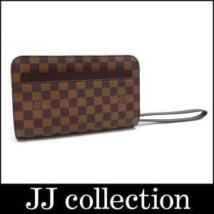 クラッチバッグ/セカンドバッグ サンルイ N51993 ダミエ エベヌ ハンドル付き|jjcollection2008