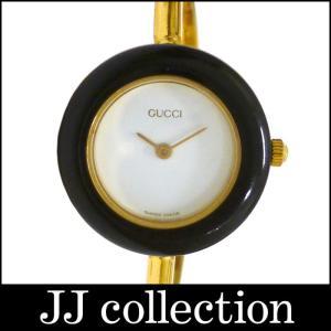 GUCCI グッチ レディース腕時計 チェンジベゼルウォッチ GP クオーツ ホワイト文字盤|jjcollection2008