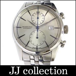 HAMILTON ハミルトン メンズ腕時計 スピリット オブ リバティ オート クロノグラフ SS|jjcollection2008