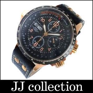 HAMILTON ハミルトン カーキ X-WIND クロノグラフ メンズ腕時計 SS(ピンクゴールドメッキ)×レザー ゴールド×ブラック jjcollection2008