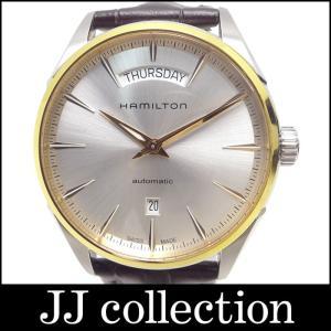Hamilton ハミルトン ジャズマスターデイデイト 自動巻き メンズ腕時計 裏スケ(バックスケルトン)|jjcollection2008