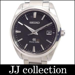 SEIKO セイコー グランドセイコー SS メンズ腕時計 SBGX061 クオーツ ブラック文字盤|jjcollection2008