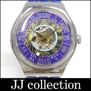 スウォッチ メンズ腕時計 トレゾールマジック プラチナ(Pt950)/レザー|jjcollection2008