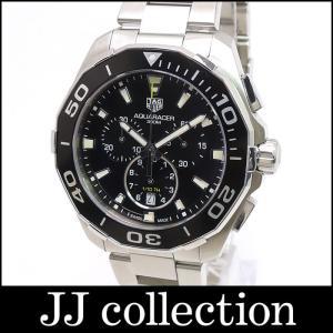 TAG Heuer タグホイヤー アクアレーサー クロノグラフ 300M CAY111A BA0927 クオーツ SS メンズ腕時計【中古】[mo]|jjcollection2008