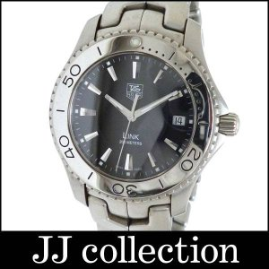 Tag Heuer メンズ腕時計 リンク 1110 SS クオーツ ブラック文字盤|jjcollection2008