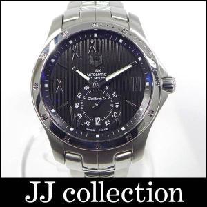 メンズ腕時計 LINK リンク スターダスト 日本限定350本 WJF211N SS 自動巻き ブラック文字盤 裏スケ キャリバー6搭載[hs]|jjcollection2008