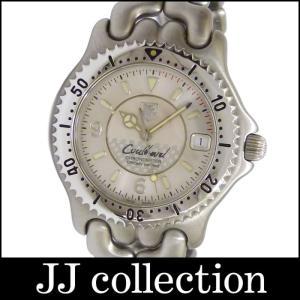 TAG HEUER タグホイヤー メンズ腕時計 プロフェッショナル セルシリーズ デイビット・クルサードコラボ SS 自動巻き シルバー文字盤|jjcollection2008