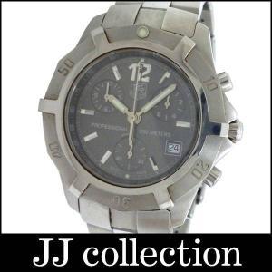 Tag Heuer メンズ腕時計 2000エクスクルーシブ 川口能活モデル CN111B.BA0337 SS クオーツ グレー文字盤 2002年日韓杯記念500本限定モデル|jjcollection2008