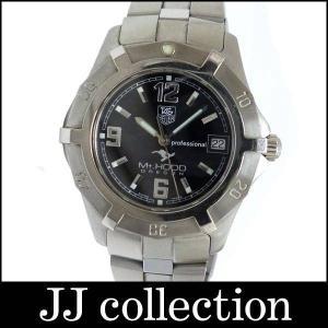 Tag Heuer メンズ腕時計 2000エクスクルーシブ Mt.HOOD(マウントフッド) N11F SS クオーツ ブラック文字盤 800本限定のレア商品|jjcollection2008