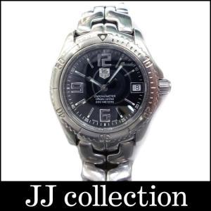 TAG HEUER タグホイヤー メンズ腕時計 リンク クロノメーター SS デイト 自動巻き ブラック文字盤|jjcollection2008