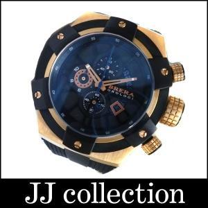 BRERA ブレラ OROLOGI スーパースポルティーボ クオーツ メンズ腕時計 GP×ラバー ゴールド×ブラック文字盤 jjcollection2008