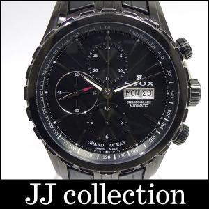 グランドオーシャン クロノグラフ 01113-357N-NIN ブラック文字盤 メンズ腕時計|jjcollection2008