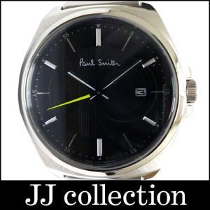 Paul Smith ポールスミス メンズ腕時計 クローズド アイズ クォーツ SS 黒文字盤|jjcollection2008