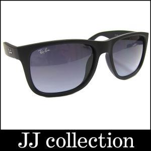RayBan レイバン サングラス ジャスティン ブラック×ブラックグラデーションレンズ【中古】[mo]|jjcollection2008