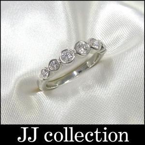 TIFFANY ジャズ グラジュエイテッド リング プラチナ Pt950 約9号 7粒ダイヤモンド 指輪|jjcollection2008