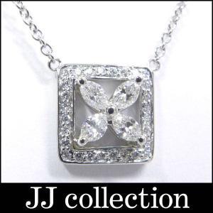TIFFANY ビクトリアダイヤネックレス プラチナPT950 ダイヤモンド|jjcollection2008
