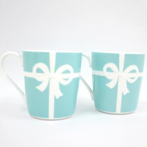 ◆ブランド ティファニー ◆商品名 ボウ マグカップ ◆型番 -- ◆カラー ブルー/ホワイト ◆素...