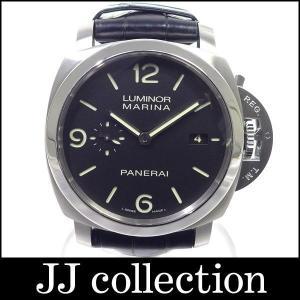 ルミノール マリーナ 1950 3デイズ ブラック文字盤 PAM00312 M番 シースルーバック SS/革ベルト・ラバーベルト jjcollection2008