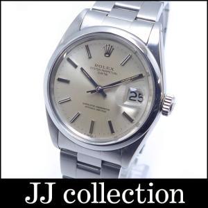 ROLEX ロレックス オイスターパーペチュアル デイト Ref.1500 SS メンズ腕時計 自動巻き シルバー文字盤 1番