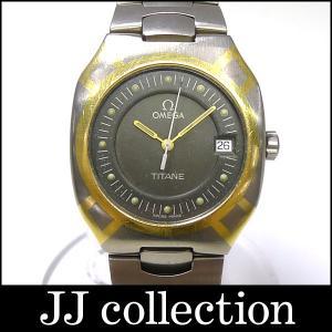 OMEGA オメガ メンズ腕時計 シーマスター ポラリス チタン×YG クオーツ|jjcollection2008