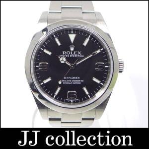 ROLEX ロレックス エクスプローラー1 214270 G番 ルーレットランダム メンズ腕時計 SSブラック文字盤|jjcollection2008