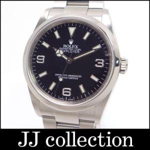 ROLEX ロレックス エクスプローラーI 114270 SS D番 ブラック文字盤 メンズ腕時計【中古】[iw]|jjcollection2008