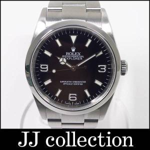 エクスプローラー1 Ref.114270 Y番 SS 自動巻き ブラック文字盤|jjcollection2008