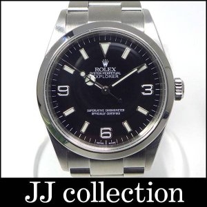 ROLEX ロレックス エクスプローラー1 114270 K番 メンズ腕時計 SSブラック文字盤|jjcollection2008
