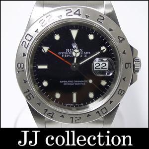 ROLEX エクスプローラー2 Ref.16570 U番 SS ブラック文字盤 メンズ腕時計|jjcollection2008