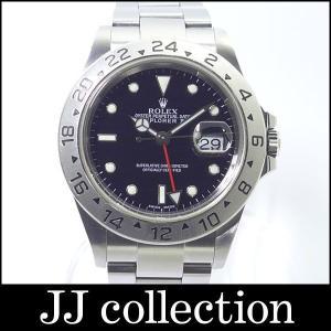 ROLEX エクスプローラー2 Ref.16570 F番 SS 黒文字盤 メンズ腕時計|jjcollection2008