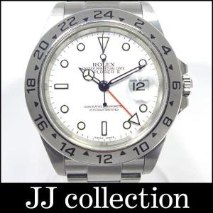 ROLEX ロレックス エクスプローラー2 Ref.16570 F番 SS ホワイト文字盤 自動巻き|jjcollection2008