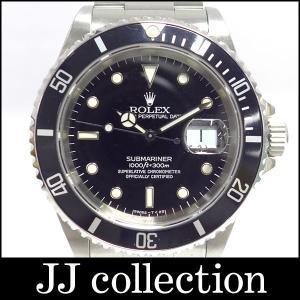 ROLEX メンズ腕時計 サブマリーナデイト Ref16610 W番 ブラック文字盤|jjcollection2008