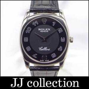 ROLEX チェリーニ ダナオス Ref.4233/9 K番 手巻き K18G/クロコレザー メンズドレス腕時計 jjcollection2008