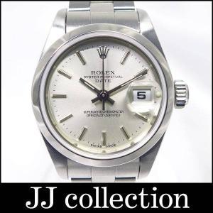 ROLEX ロレックス オイスターパーペチュアル デイト Ref 79160 F番 SS 自動巻き シルバー文字盤|jjcollection2008