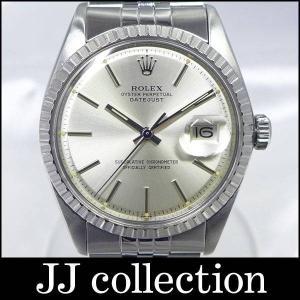 デイトジャスト Ref 1603 5番台 SS 自動巻き シルバー文字盤 アンティークなメンズ腕時計 jjcollection2008