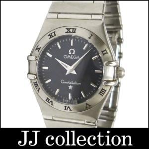 OMEGA オメガ レディース腕時計 コンステレーション SS クオーツ グレー系文字盤|jjcollection2008