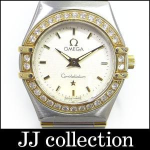 OMEGA オメガ コンステレーション ミニ レディース腕時計 SS×YG ダイヤベゼル|jjcollection2008