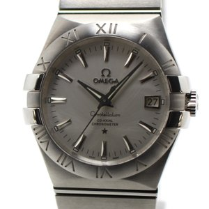 OMEGA オメガ メンズ腕時計 コンステレーション コーアクシャル クロノメーター 自動巻き Ref. 123.10.35.20.02.001 SS シルバー文字盤|jjcollection2008
