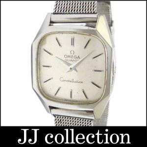 OMEGA オメガ レディース腕時計 コンステレーション SS クオーツ シルバー文字盤|jjcollection2008