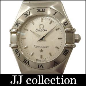 OMEGA オメガ レディース腕時計 コンステレーションミニ SS クオーツ ホワイト文字盤|jjcollection2008