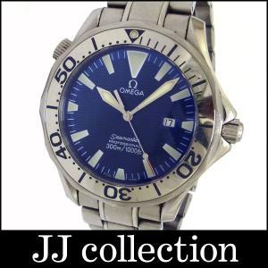 OMEGA メンズ腕時計 シーマスター プロフェッショナル SS クオーツ ブルー文字盤|jjcollection2008